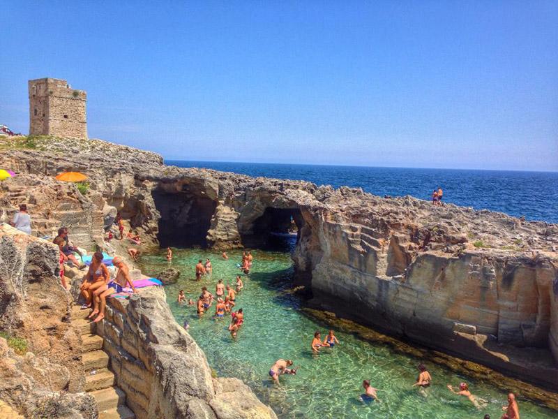 Marina serra di tricase una stupenda localit balneare - Piscine a lecce ...