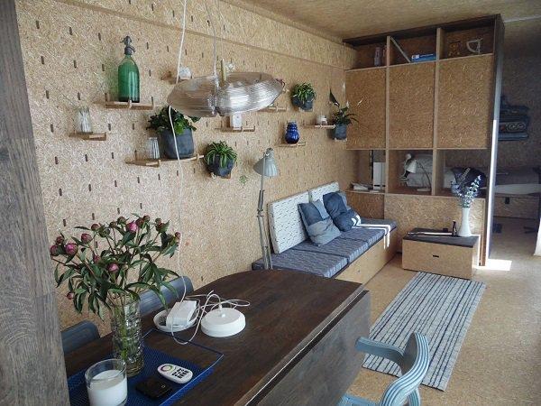 La tiny house container di sustainer homes la casetta - Tiny house interni ...