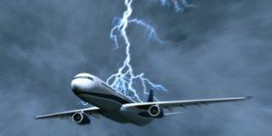 aereo fulmine