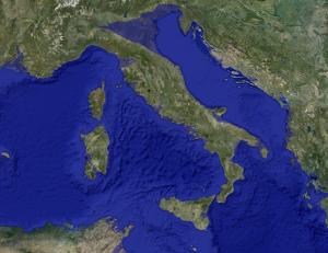 italia problema innalzamento mari