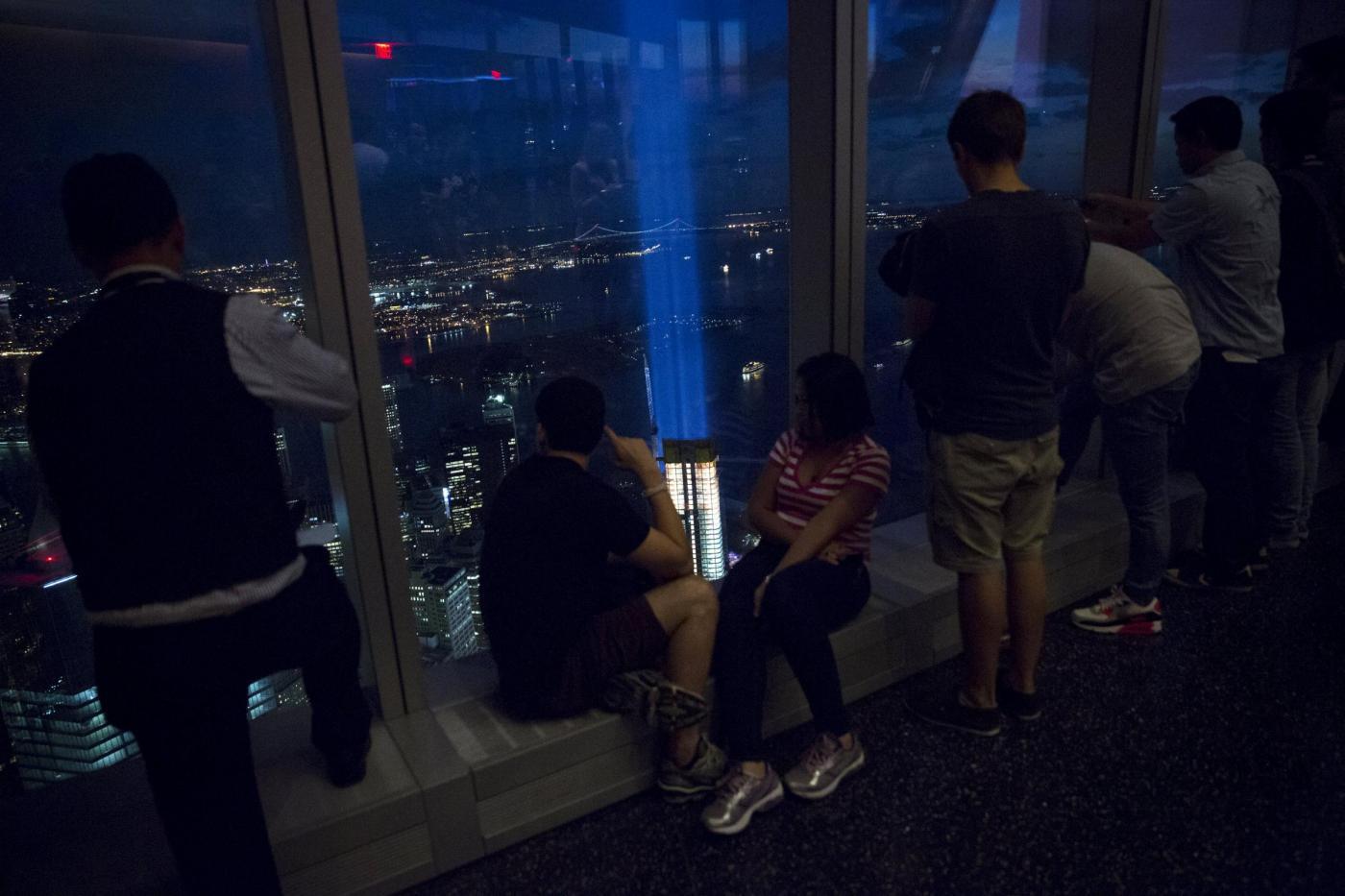 11 settembre un fascio di luci per ricordare l 39 attentato for Nuovi piani domestici americani