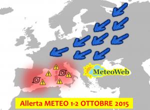 Allerta Meteo Ottobre 2015 Ciclone Italia