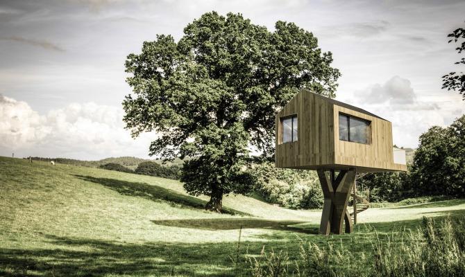 Ecco la casa sull albero senza albero un invenzione tutta italiana foto - La casa sull albero mobili ...