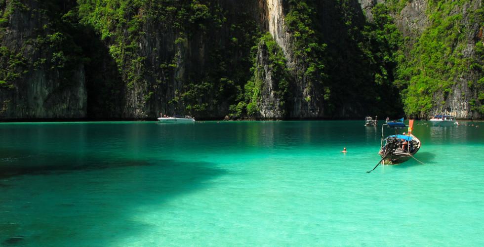 Arcipelago delle isole Phi Phi: al largo della Thailandia, uno dei luoghi più incantevoli del pianeta