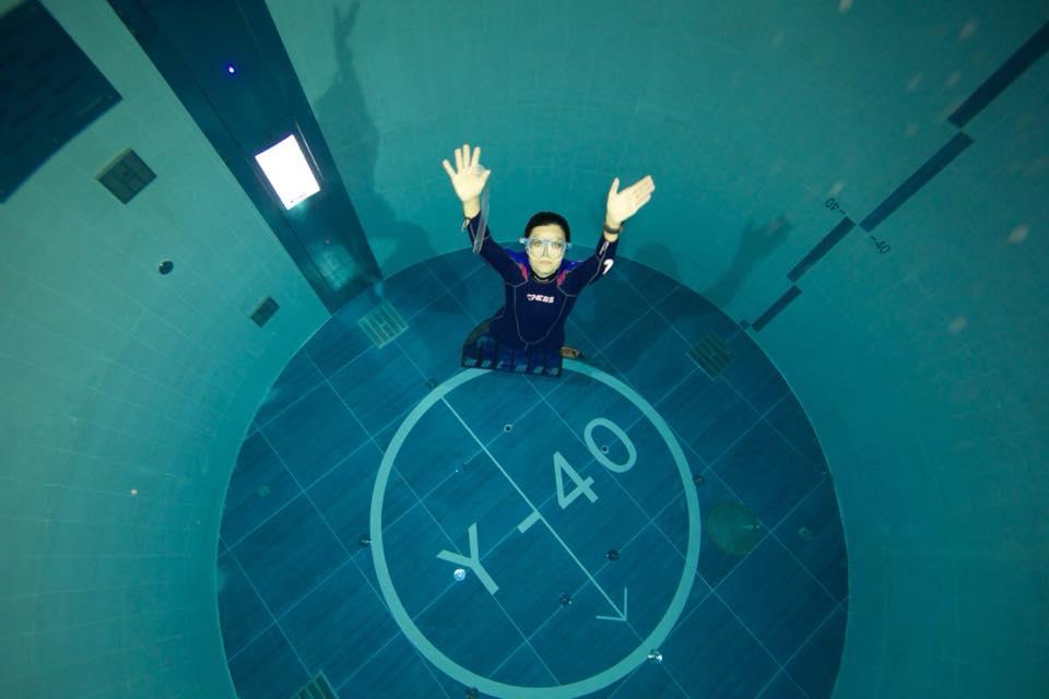 Y 40 la piscina pi profonda del mondo in veneto foto for Piscina y 40 padova