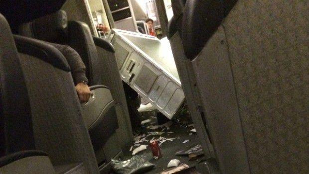 Che turbolenze: 35 feriti su volo diretto a Sydney