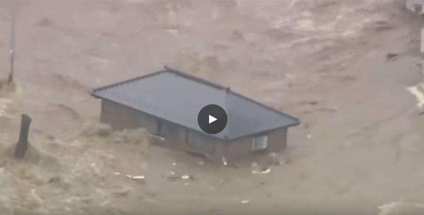 Il tifone etau imperversa sul giappone case spazzate via for Giappone case