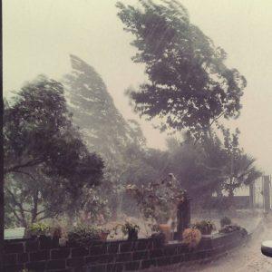 sardegna maltempo vento pioggia alberi tromba d'aria