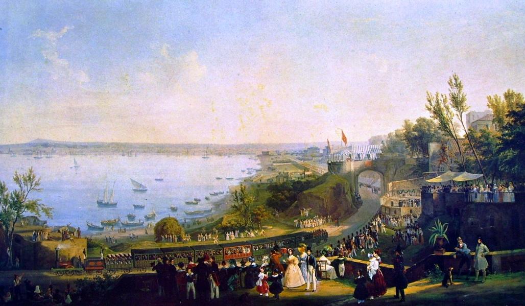 Accadde oggi, il 3 ottobre 1839 viene inaugurata la prima ferrovia italiana fra Napoli e Portici
