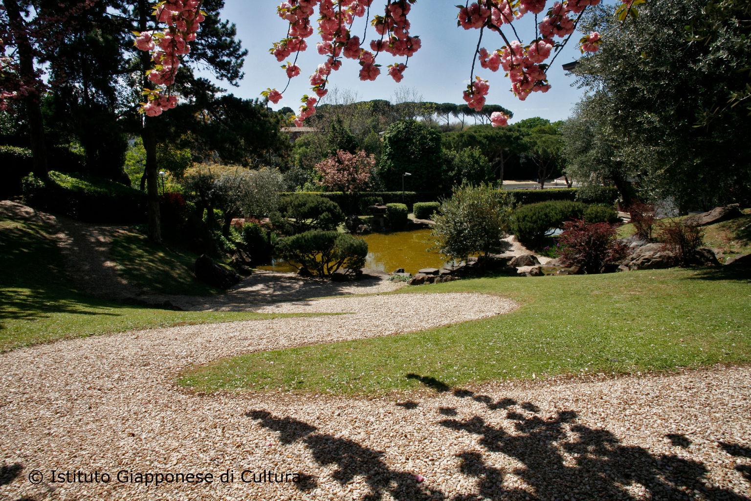 Viaggio a roma nel suggestivo giardino dell istituto giapponese di cultura foto - Giardino d oriente roma ...