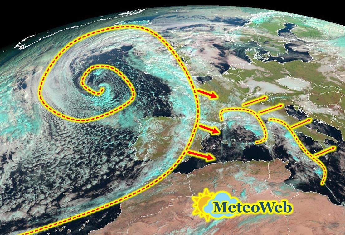 Previsioni meteo da domani 5 giorni di grandi piogge sull - Meteo bagno di romagna domani ...