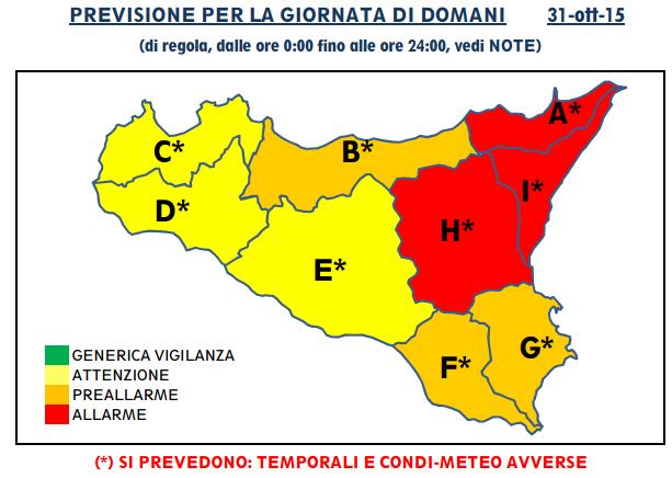 Allerta Meteo Catania Domani Scuole Chiuse Ad Acireale Giarre E