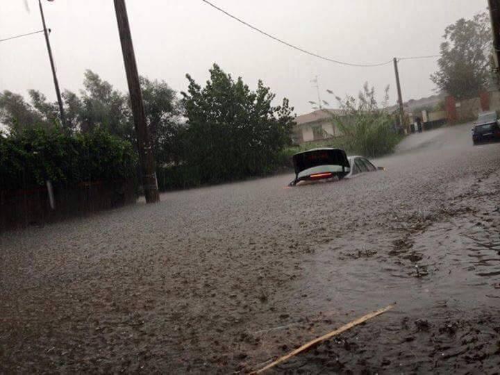 Risultati immagini per immagini dell alluvione a catania