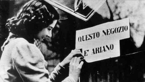 Risultati immagini per leggi razziali italiana