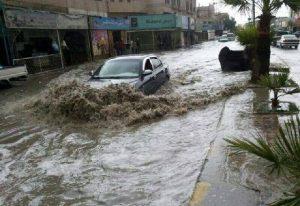 L'alluvione lampo colpisce la città di Amman