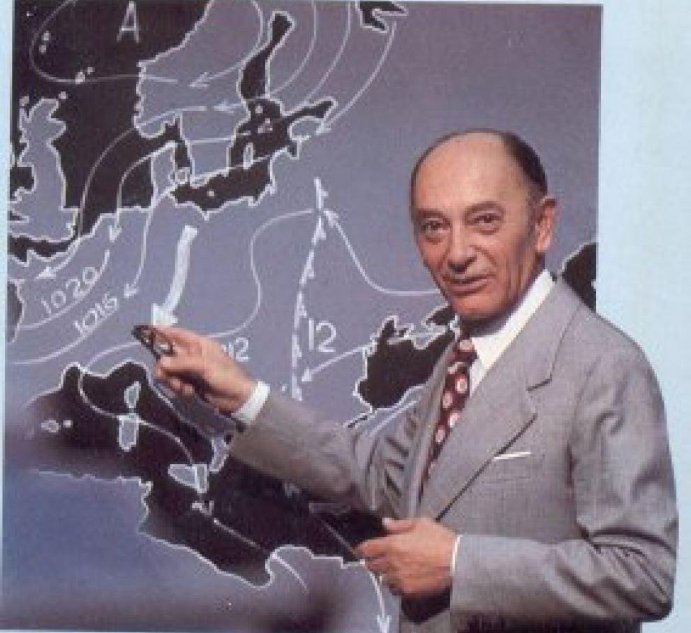 """Accadde Oggi, scompare a Roma il colonnello Bernacca: """"l'uomo delle previsioni meteo"""""""
