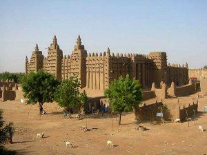 moschea di fango