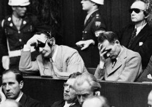 La reazione di Hermann Wilhelm Goering alla sua condanna