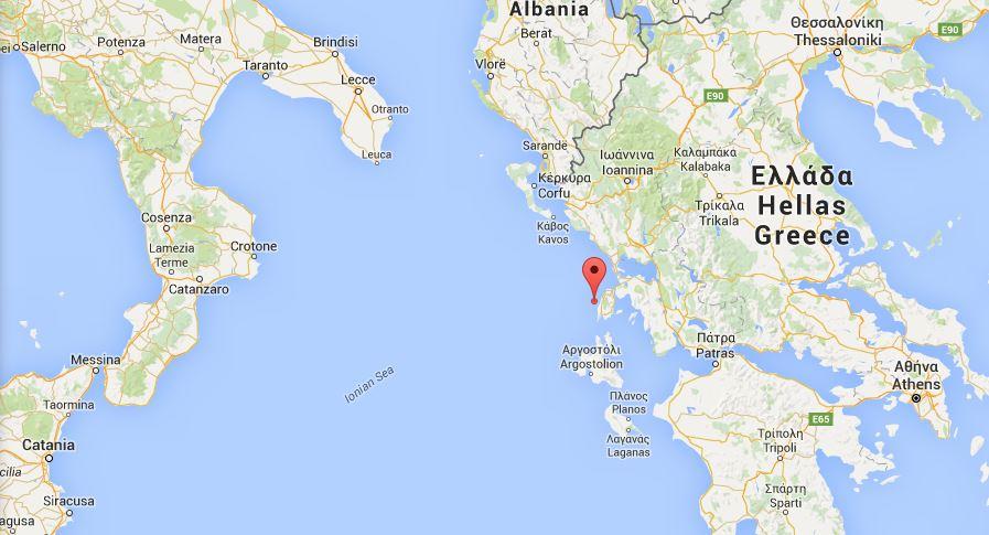 Cartina Puglia Grecia.Terremoto Magnitudo 6 5 Al Largo Della Grecia Scossa Avvertita In Puglia Calabria E Sicilia