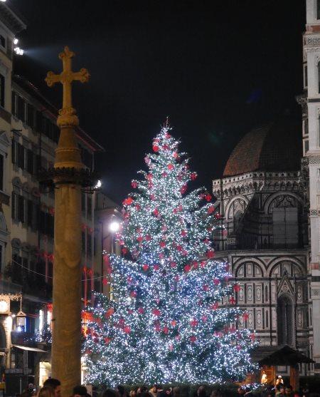 Alberi di Natale in Italia: Firenze © Più Firenze