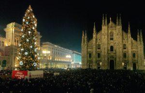 Alberi di Natale in Italia: Milano © Comune di Milano