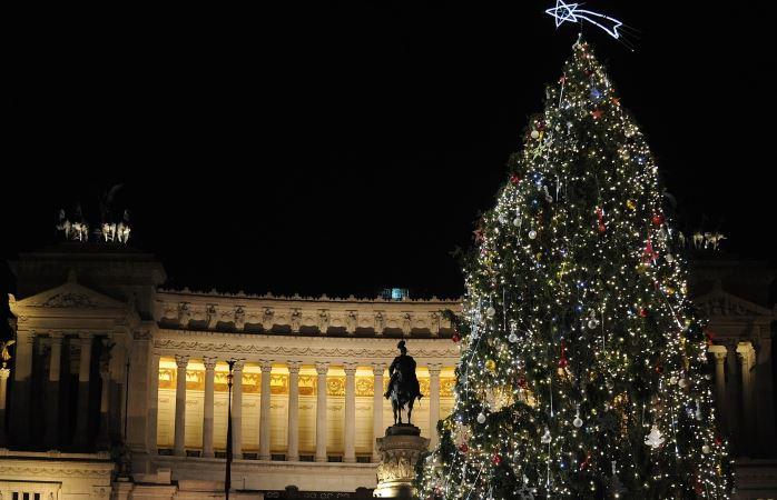 Alberi di Natale in Italia: Roma © Ufficio del Turismo del Comune di Roma