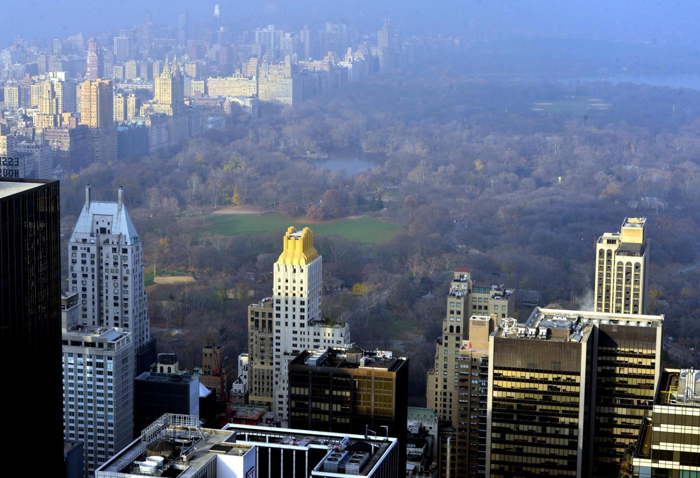 Natale tropicale a new york il pi caldo della storia for Immagini new york a natale
