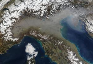 iquinamento pianura padana smog