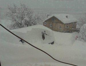 """Gli effetti delle forti nevicate da """"Black sea effect snow"""" sulle montagne della Turchia settentrionale"""