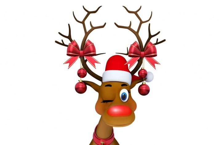 Immagini Natale Renne.Babbo Natale La Scienza Svela Perche La Renna Rudolph Ha Il