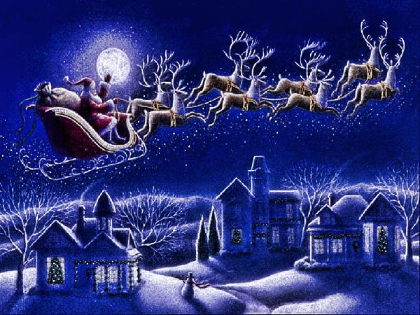 Babbo Natale Babbo Natale.Babbo Natale Curiosi Di Sapere Dove Si Trovera Questa Notte Il