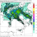Allerta Meteo, arriva il maltempo: le mappe del modello MOLOCH