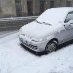 Bufere di neve in Calabria, le FOTO da Chiaravalle Centrale