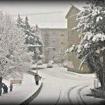 Cosenza e Rende, la grande nevicata continua con -1°C: superati i 25cm in città [FOTO e VIDEO]