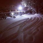 Cosenza, le FOTO della nevicata nella notte