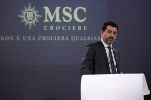 Gianni Onorato CEO MSC Cruises