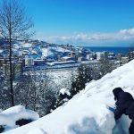 In Turchia un metro di neve in spiaggia! Le FOTO da Rize e Çayeli