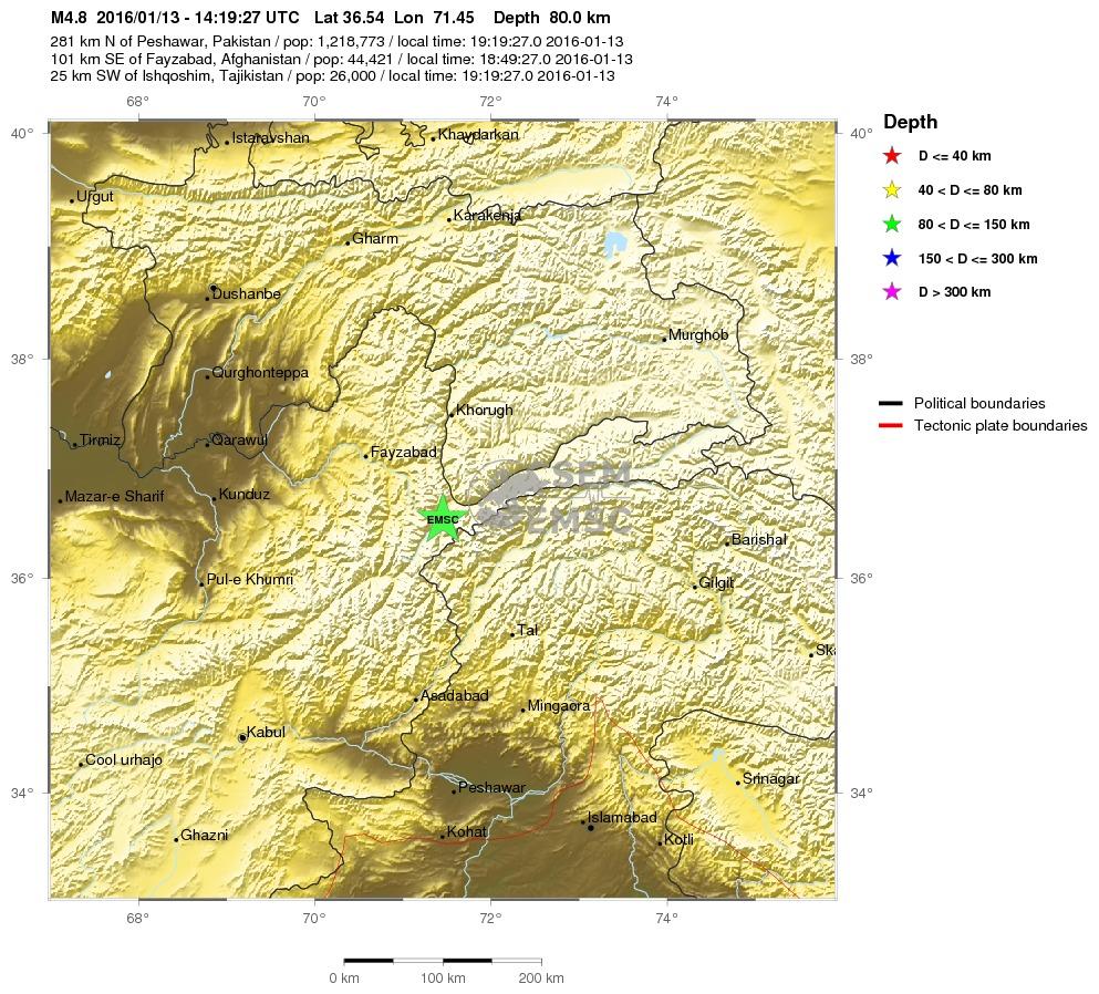 Terremoti Afghanistan