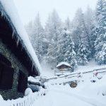 Forti nevicate in Valle d'Aosta: le FOTO in diretta