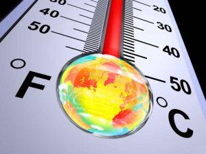 caldo termometro global warming