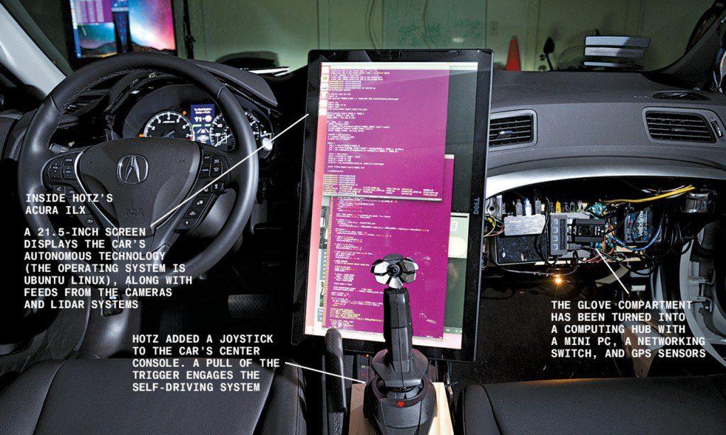 automobile senza pilota