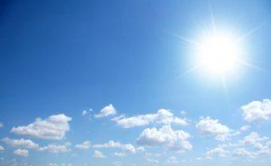 tempo soleggiato