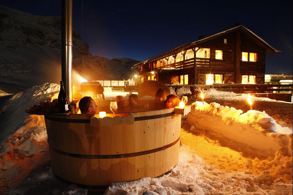 San valentino a cortina bagno caldo nella neve e men d - Bagno caldo per raffreddore ...