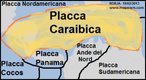 placca caraibica