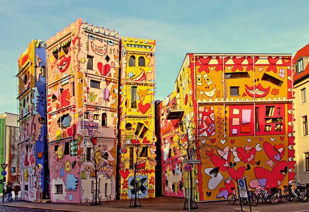 happy rizzi house in germania la casa pi felice del mondo foto meteo web. Black Bedroom Furniture Sets. Home Design Ideas