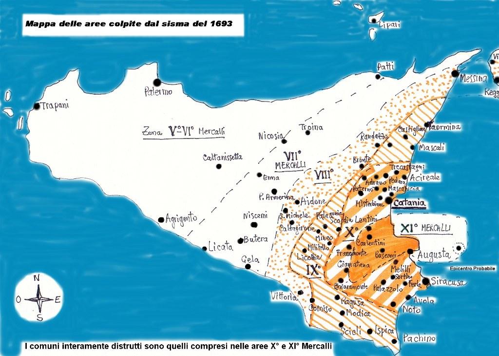 sismicità Ragusa