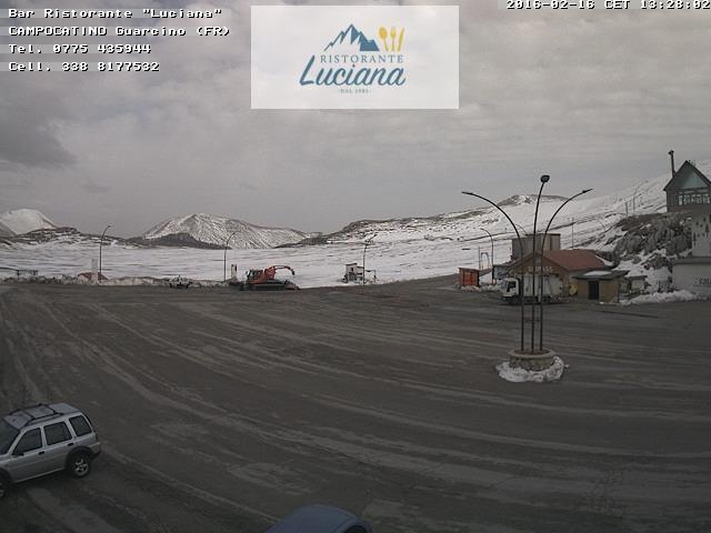 Il caldo scioglie tutta la neve dell 39 appennino for Camera in diretta