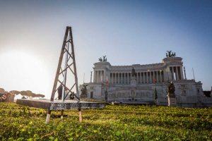 greenpeace  altare della patria trivelle (9)