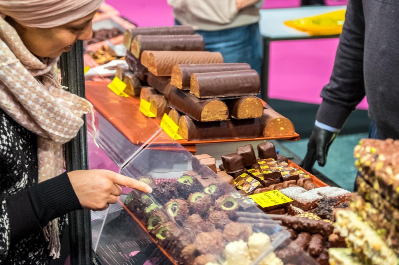 Le salon du chocolat la fiera del cioccolato di bruxelles for Salon meteo