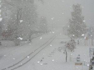 Rovesci di neve sulla Russia uropea